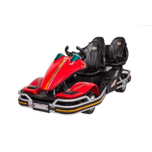 Детский спортивный электромобиль Dongma 12V трёхместный