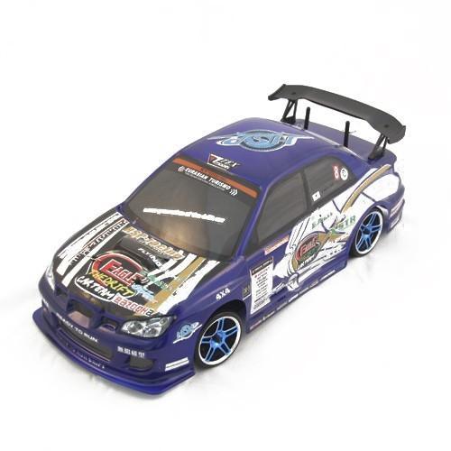 Радиоуправляемая машина для дрифта 1:10 4WD (светодиод. фары) Subaru, синий (36 см)