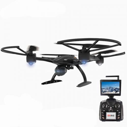 Квадрокоптер 506G с поворотной HD камерой 2MP FPV 5.8G (видео на пульт, 39 см)