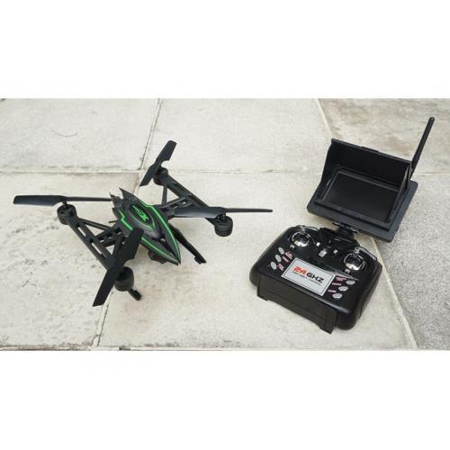 Kвадрокоптер 5.8G FPV с камерой (трансл. видео на пульт, 30 см)