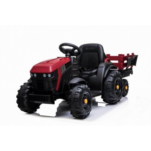 Детский электромобиль трактор с прицепом 2WD 12V