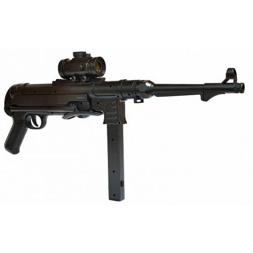 Автомат-пулемет Шмайсер с пружинным механизмом (48 см, пневматика)