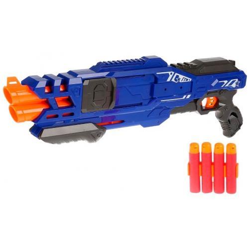 Пистолет BlazeStorm с мягкими МЕГАпулями (2-ой выстрел)