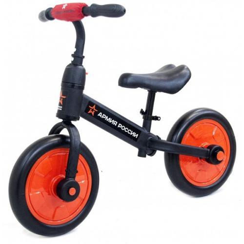 Детский беговел/велосипед ''Тактический'' (красный)