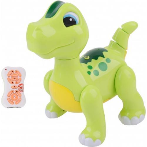 Радиоуправляемый интерактивный зеленый робот динозавр