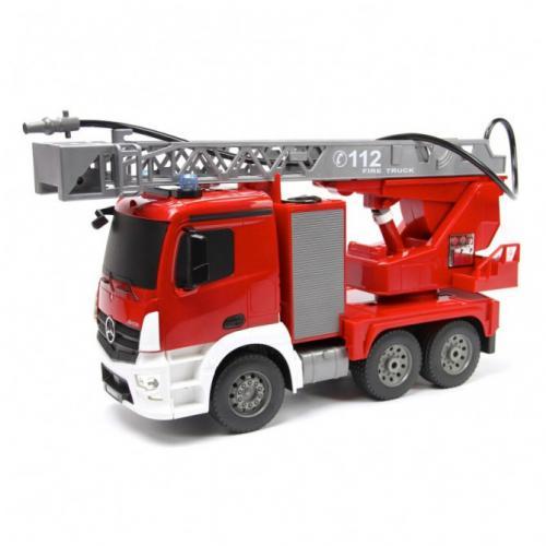 Пожарная машина на радиоуправлении Мерседес DE (свет, 40 см)
