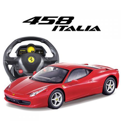 Радиоуправляемый автомобиль Ferrari 458 Italia 1:14, пульт-руль (31 см)