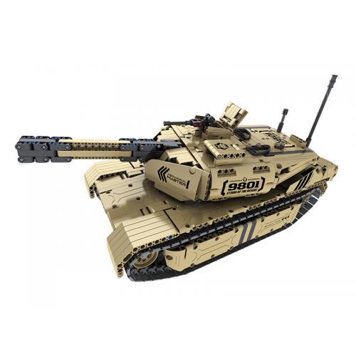 Радиоуправляемый электромеханический конструктор танк, стреляет пульками