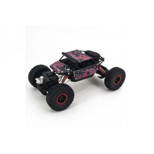 Радиоуправляемый джип красно-черный 4WD 1:18 (27 см, 20 км/ч)