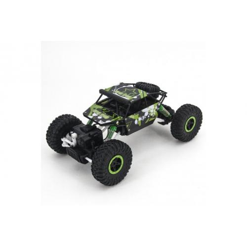 Радиоуправляемый джип Краулер зеленый 4WD 1:18 (27 см, 20 км/ч)