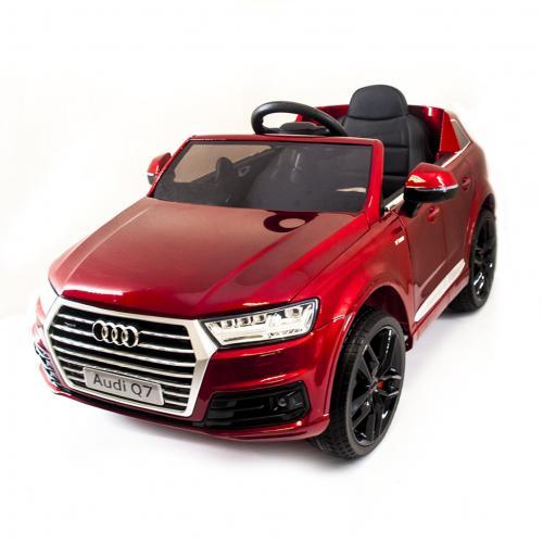 Детский электромобиль Audi Q7 LUXURY 2.4G - Red