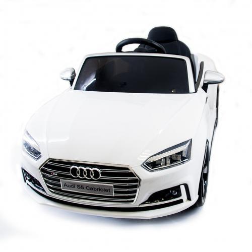 Детский электромобиль Audi S5 Cabriolet LUXURY 2.4G - White - HL258-LUX-W