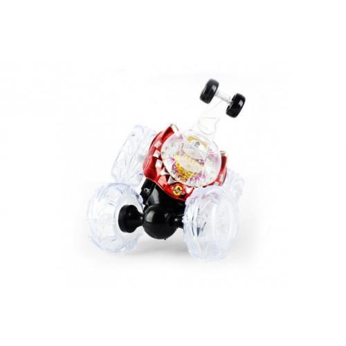 Р/у трюковая машинка перевертыш с мыльными пузырями