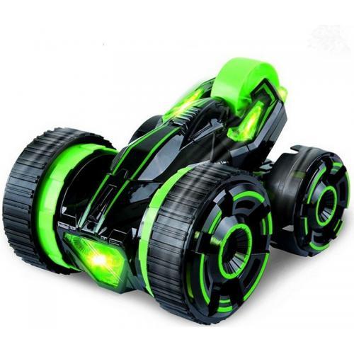 Радиоуправляемая зеленая машина Перевертыш