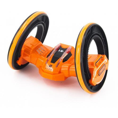 Радиоуправляемая оранжевая машина перевертыш