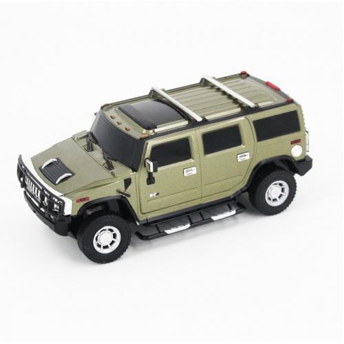 Радиоуправляемая машина MZ Hummer H2 Green 1:24