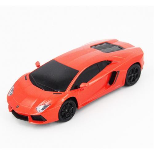 Радиоуправляемая машина Lamborghini оранжевая 1:24
