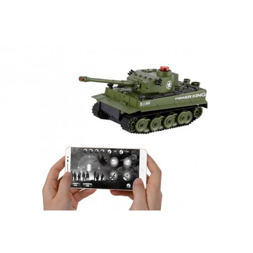 Боевой танк (управление с телефона)