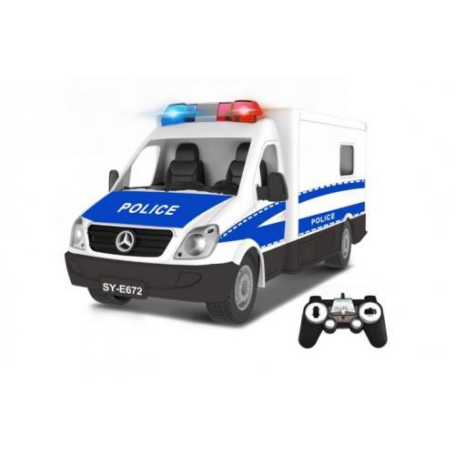 Радиоуправляемый полицейский фургон