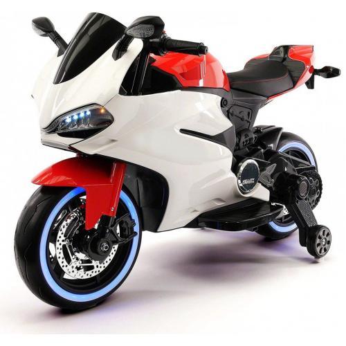 Детский электромотоцикл Ducati RED-WHITE
