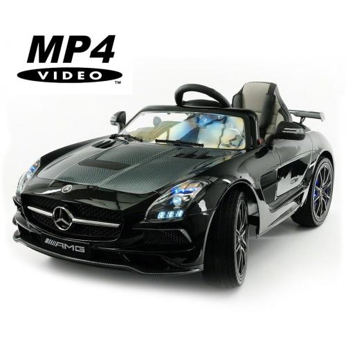 Электромобиль Mercedes-Benz SLS AMG Black Carbon Edition MP4 - SX128-S