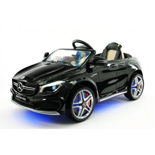 Детский электромобиль Mercedes CLA45 AMG LUXURY Black 12V