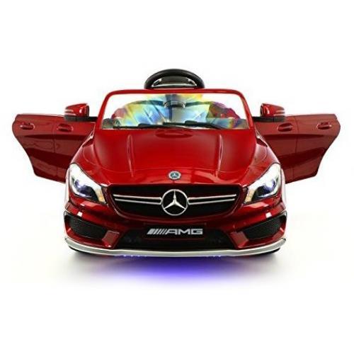 Детский электромобиль Mercedes CLA45 AMG LUXURY RED 12V 2.4G - SX1538-E