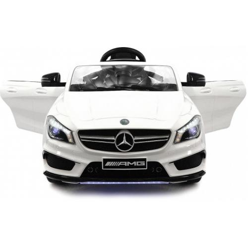 Детский электромобиль Mercedes CLA45 AMG LUXURY White 12V
