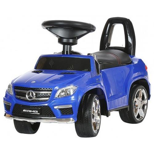 Детская каталка Mercedes синий