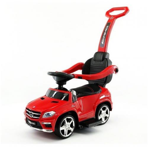 Детский электромобиль - каталка Mercedes красный