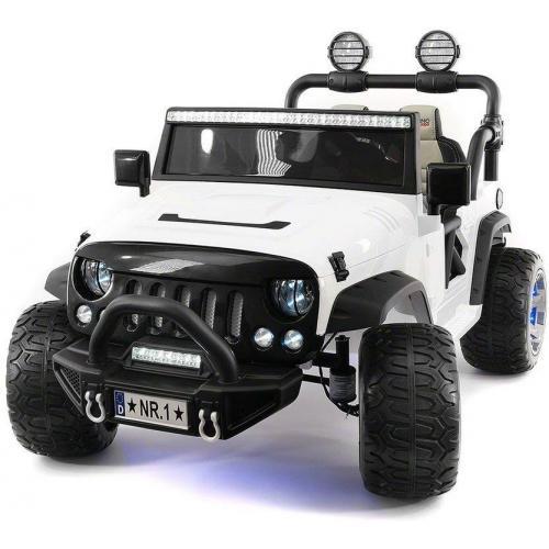 Электромобиль Jeep Wrangler White 4WD - SX1718-A
