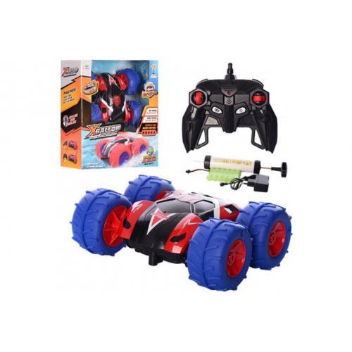 Радиоуправляемая машина Перевертыш с пневмо колесами CS Toys A01