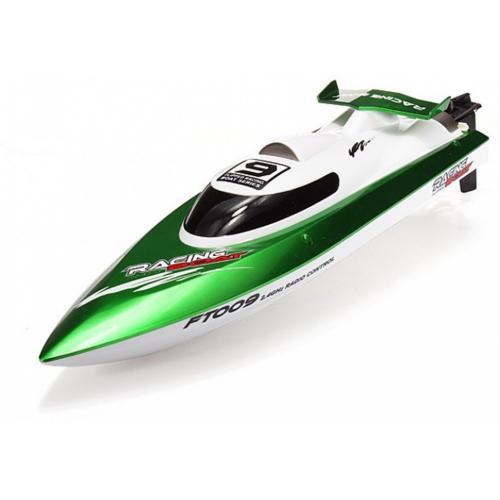 Радиоуправляемый катер Fei Lun High Speed Green Boat 2.4GHz