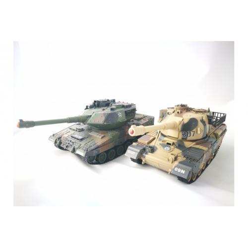 Радиоуправляемый танковый бой Household