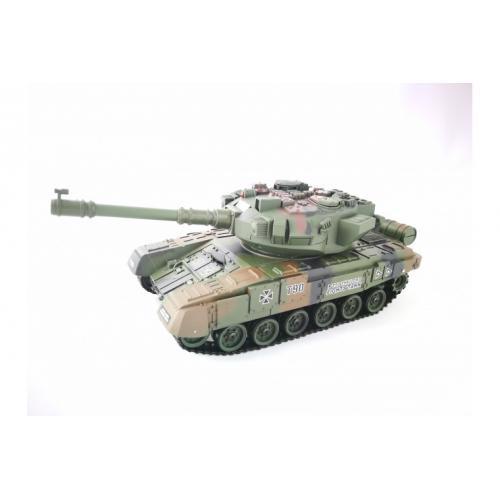 Радиоуправляемый танковый бой с мишенью T-90