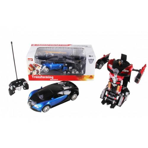 Радиоуправляемый трансформер 1:14 Bugatti