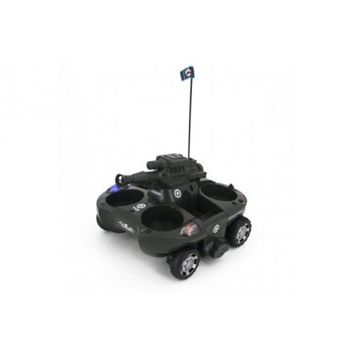 Радиоуправляемый танк-амфибия, стреляющий шариками