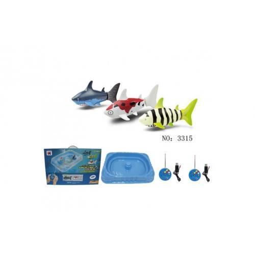 Радиоуправляемые рыбки Create Toys с бассейном