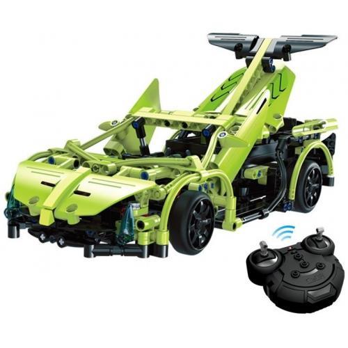 Конструктор Double E Cada Technics, спортивная машина, 453 деталей, пульт