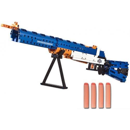 Конструктор винтовка М1, 583 детали, стреляет пульками
