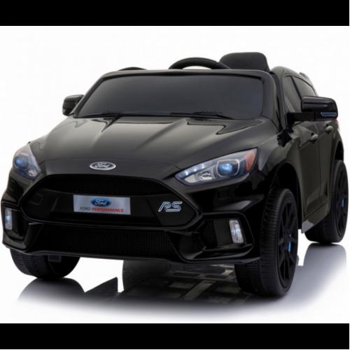 Детский электромобиль Dake Ford Focus RS Black 12V 2.4G - F777-BLACK