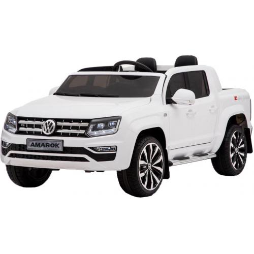 Детский электромобиль Volkswagen Amarok White 4WD белый