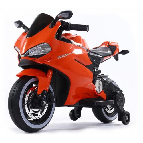 Детский электромотоцикл Ducati Orange 12V