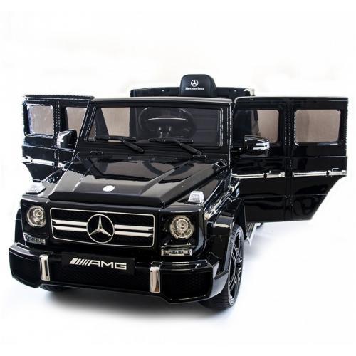 Детский электромобиль Mercedes Benz G63 LUXURY 2.4G - Black