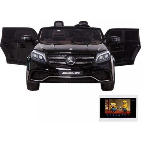 Детский электромобиль Mercedes Benz GLS63 LUXURY 4WD 12V MP4 - Black