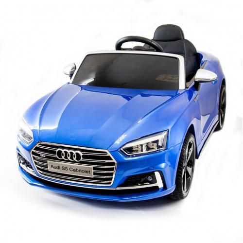 Детский электромобиль Audi S5 Cabriolet LUXURY 2.4G - Blue