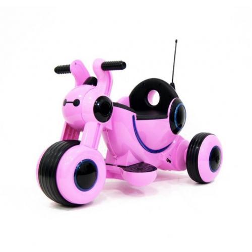Детский электромотоцикл Pink 6V