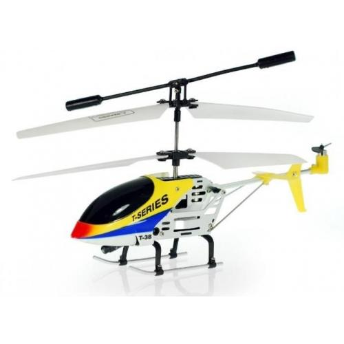 Радиоуправляемый вертолет MJX Thunderbird T38 Yellow