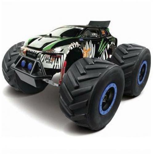 Радиоуправляемый джип МОНСТР 4WD масштаб 1:8 (45 см, полный привод, огромные колеса)
