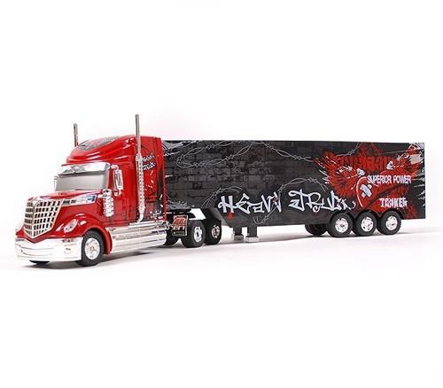 Радиоуправляемый грузовик Rui красный 1:32 (49 см)
